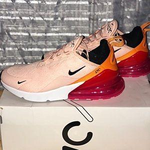 Nike pink air max 270 sneakers